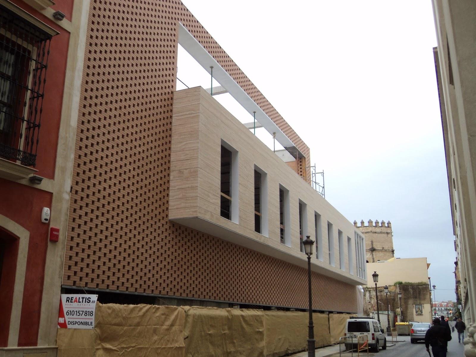 Cultura De Sevilla El Nuevo Edificio De La Calle