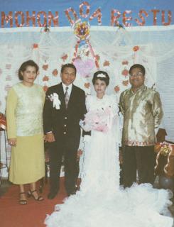 Sambutan Pernikahan Kristen 1 (Mewakili Keluarga Kedua Mempelai)