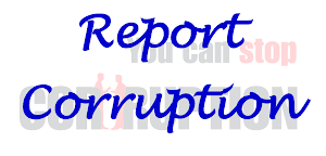 Report an Act of Corruption