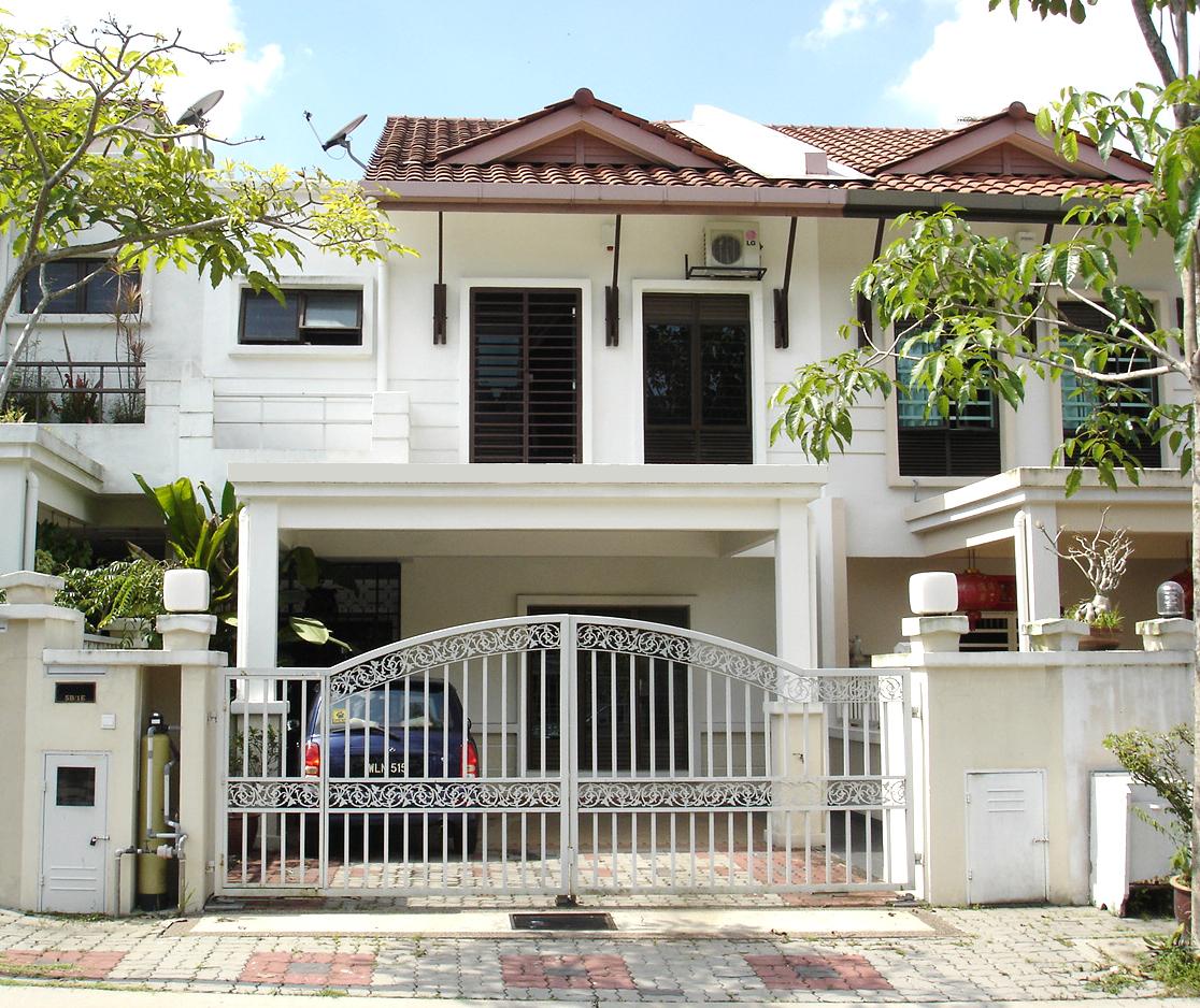 House for sale damai bk5b 1e bandar kinrara puchong for Exterior view of house