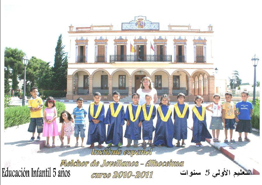 Ie melchor de jovellanos alhucemas aaee graduaci n de for Educacion exterior marruecos