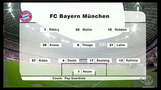 Uli Hoeness Cup - Bayern Munchen vs Barcelona