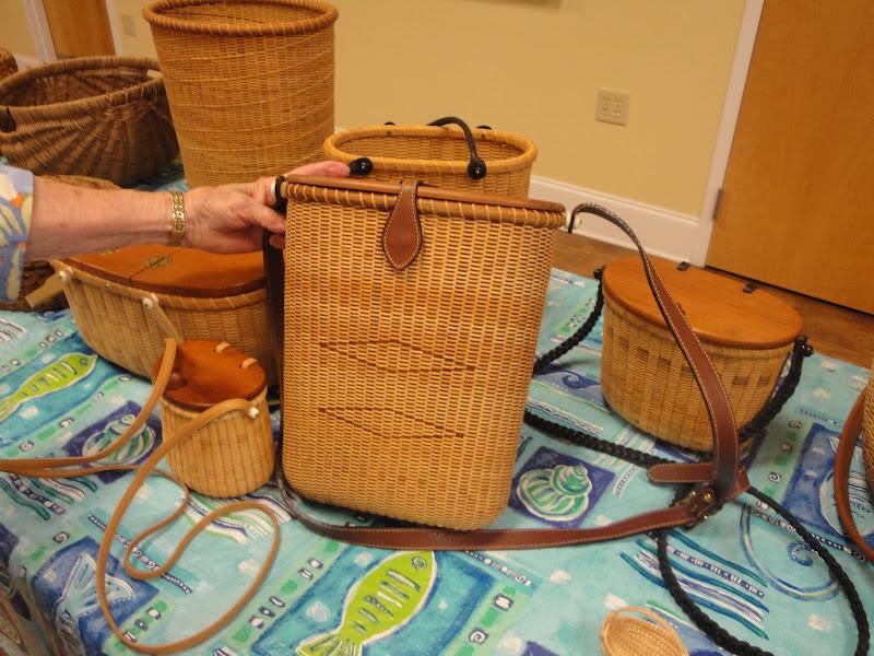 Basket Weaving North Carolina : Dar brunswick town chapter may th meeting features