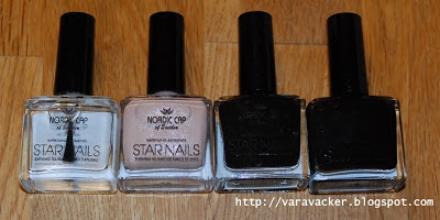 naglar, nails, nagellack, nail polish, nordic cap star nails, haul