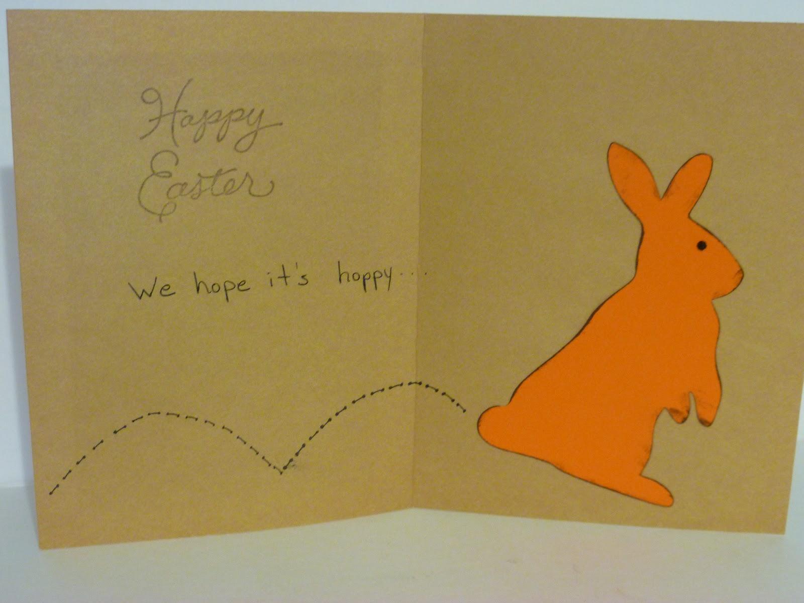 silly bean s idea space easter bunny cards