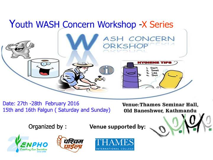 Youth WASH Concern Workshop-X Series