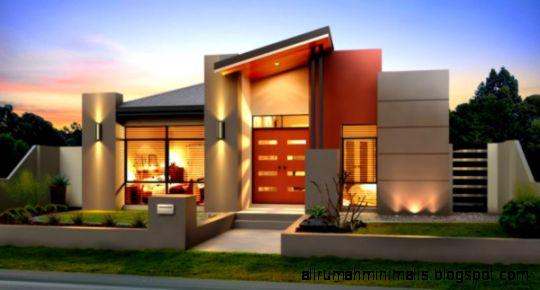 Rumah Idaman Modern Minimalis   Sketsa Denah Desain Rumah