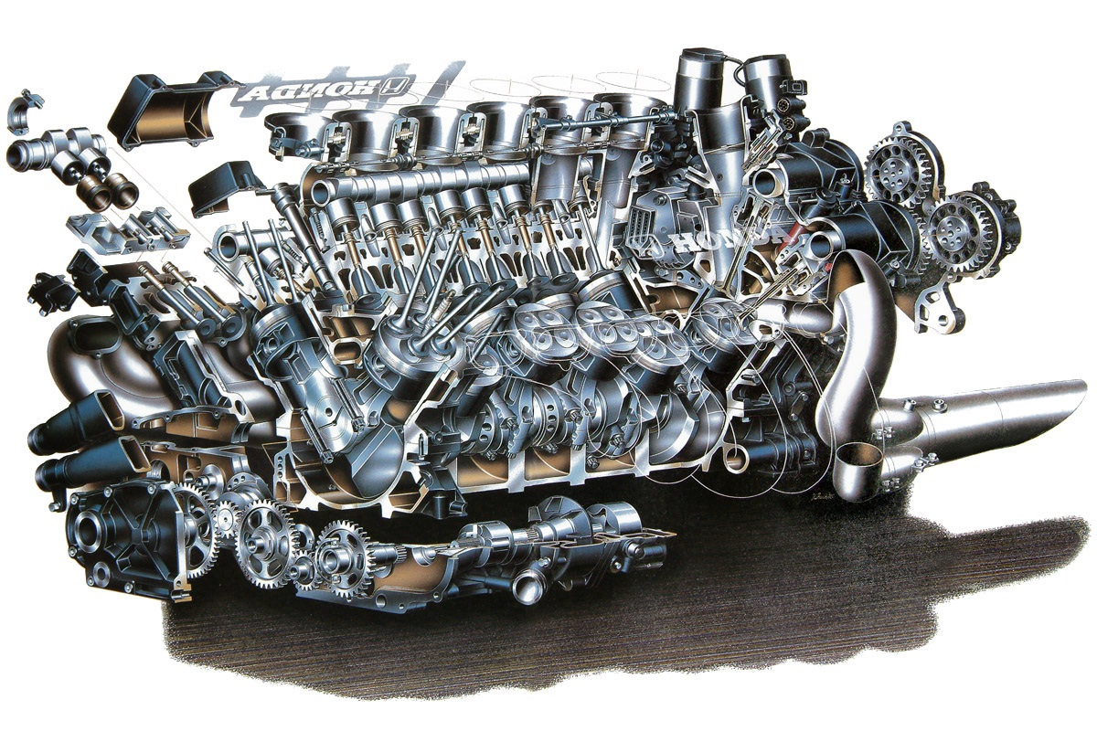 auto neurotic fixation cutaway friday f1 engines