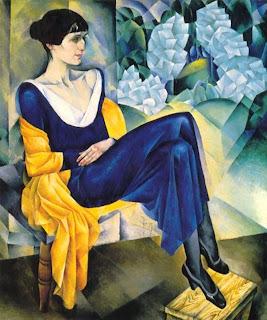 Anna Ajmátova - Nathan Altman (1914)