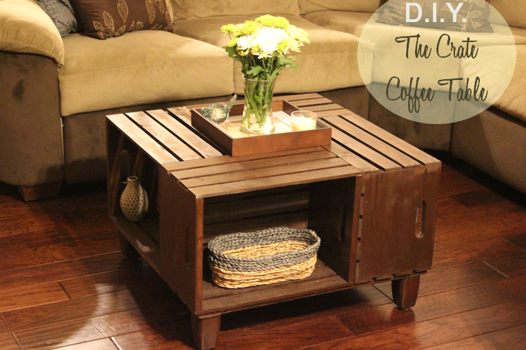 Landing On Love D I Y Crate Coffee Table