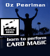Born to perform card tricks