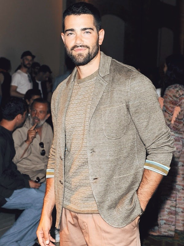 Jesse Metcalfe Missoni show Milan Menswear Fashion Week Spring Summer 2015 - 22 June 2014 Milan Italy