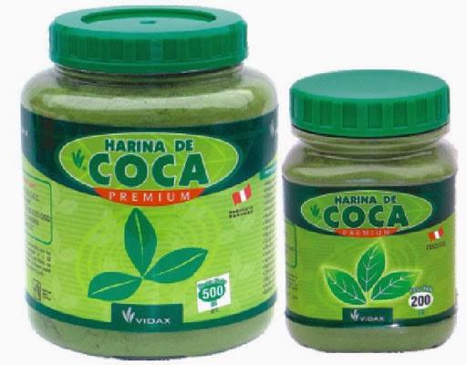 hoja de coca y derivados: