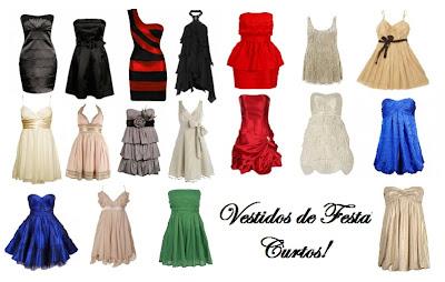 VESTIDOS DE FESTA CURTOS 2012-2013 FOTOS E MODELOS
