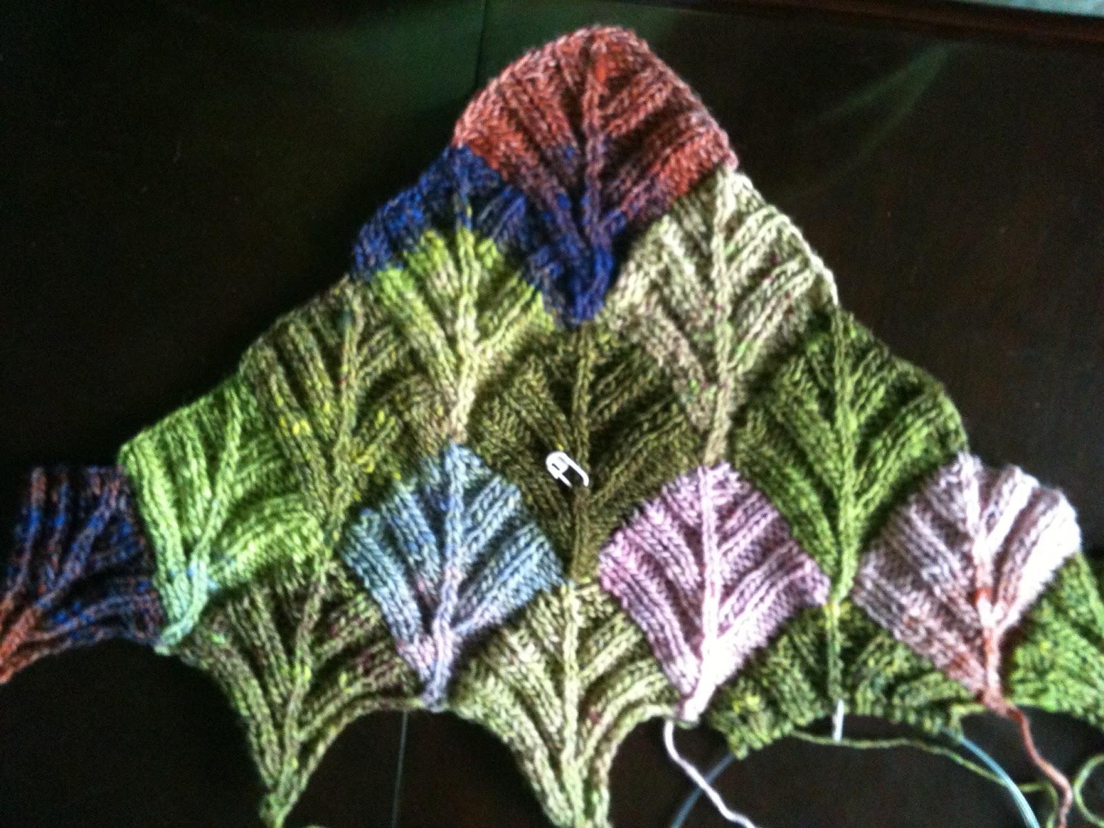 Modular Knitting Patterns : A New Logo & More Modular Knitting The Treadmill Knitter