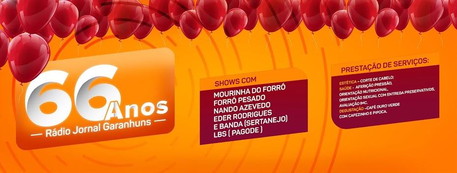 RÁDIO JORNAL COMEMORA ANIVERSÁRIO COM GRANDE FESTA