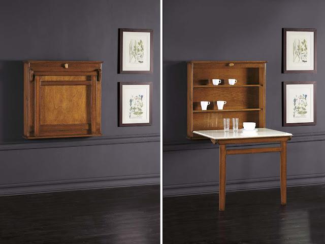 Muebles para casas peque as mesas de comedor para for Acomodar muebles en espacios pequenos