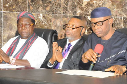 Chairman of the PDP Governors Forum, Dr. Olusegun Mimiko