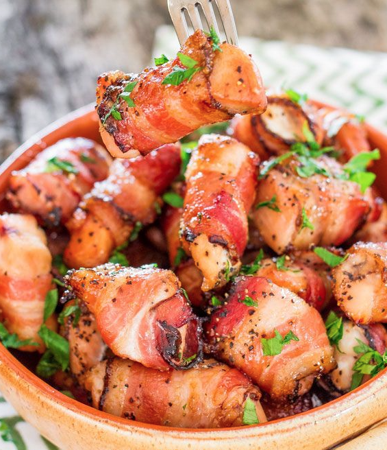 Sweet Chicken Bacon Bites Recipe