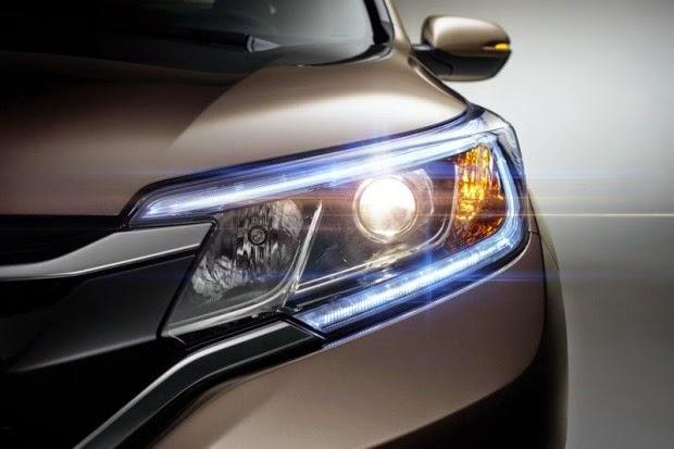 Honda Crv 2015 frente farol