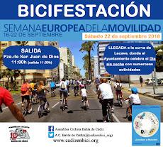 Día sin coche ¡Bicifestación urbana!
