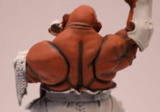 Warhammer delimitación de sombras de la pintura de la piel de ogro