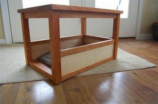 Desain model kandang anjing di dalam rumah