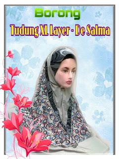 TERBARU - Tudung XL Layer De Salma