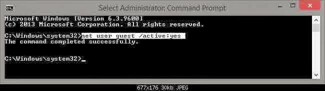 Cara Mengaktifkan Akun Guest di Windows 8 & 8.1.7