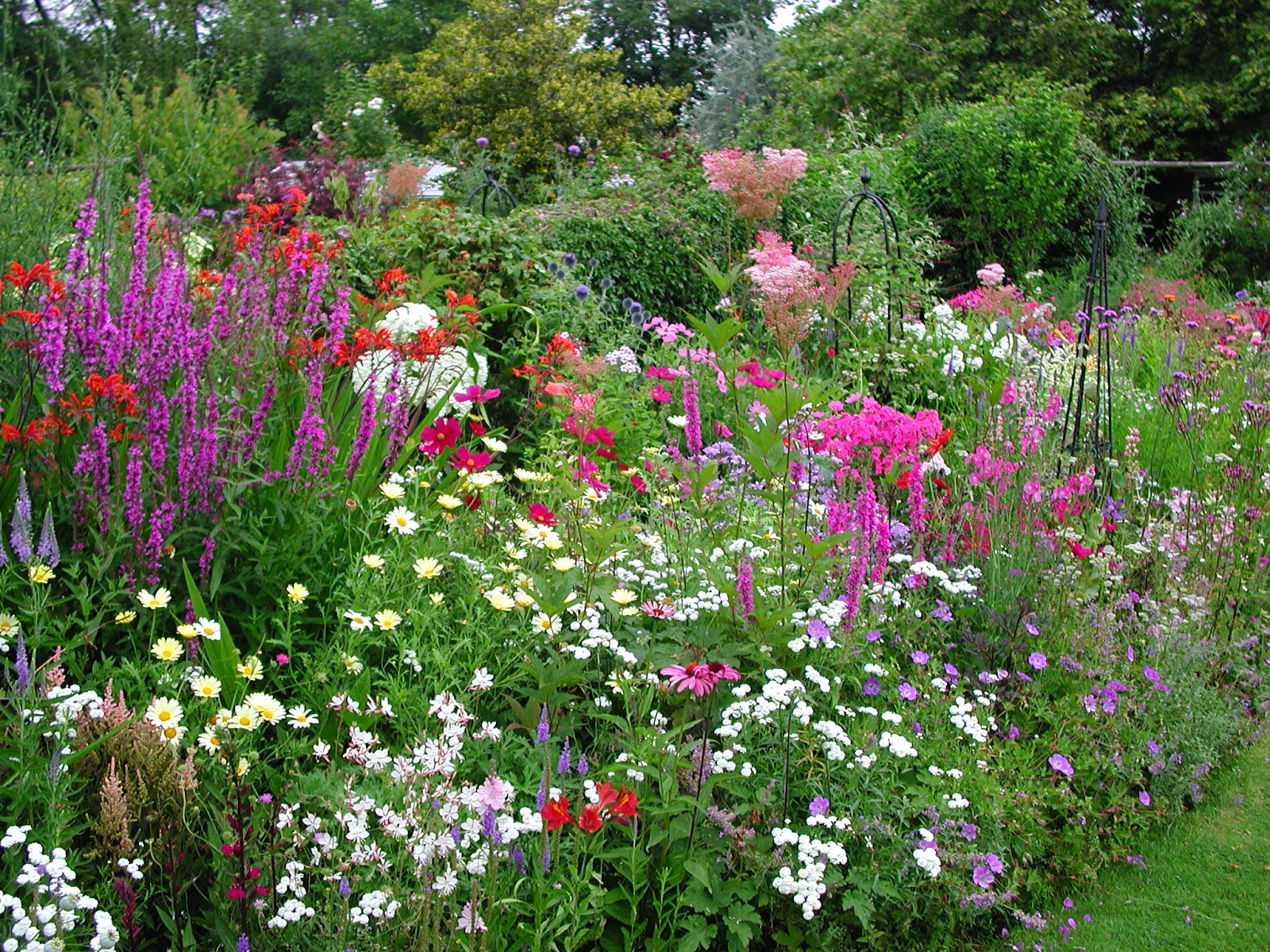 Garden maintenance and landscape services in for Flower garden borders