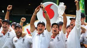 England team Ashes 2011 winner