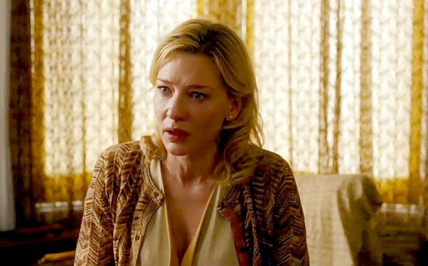 Cate Blanchett in Blue Jasmine movie still