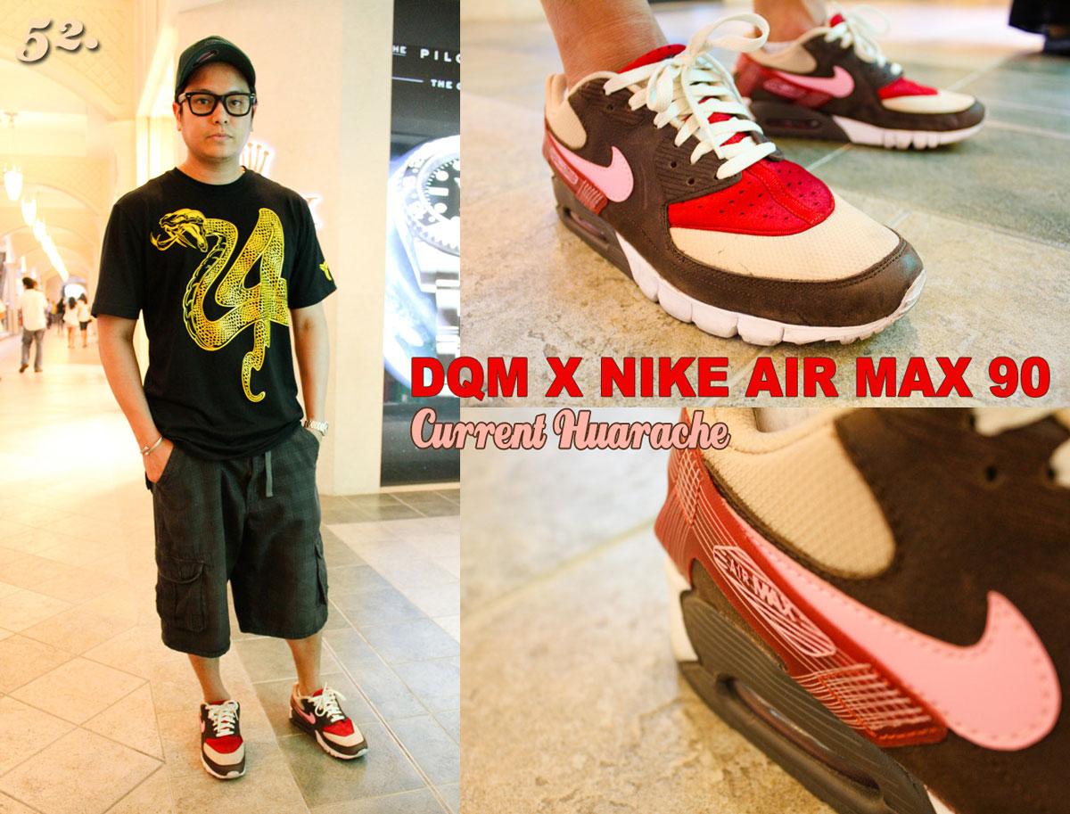 newest 92aad 6a7f6 DQM x Nike Air Max 90 Current Huarache