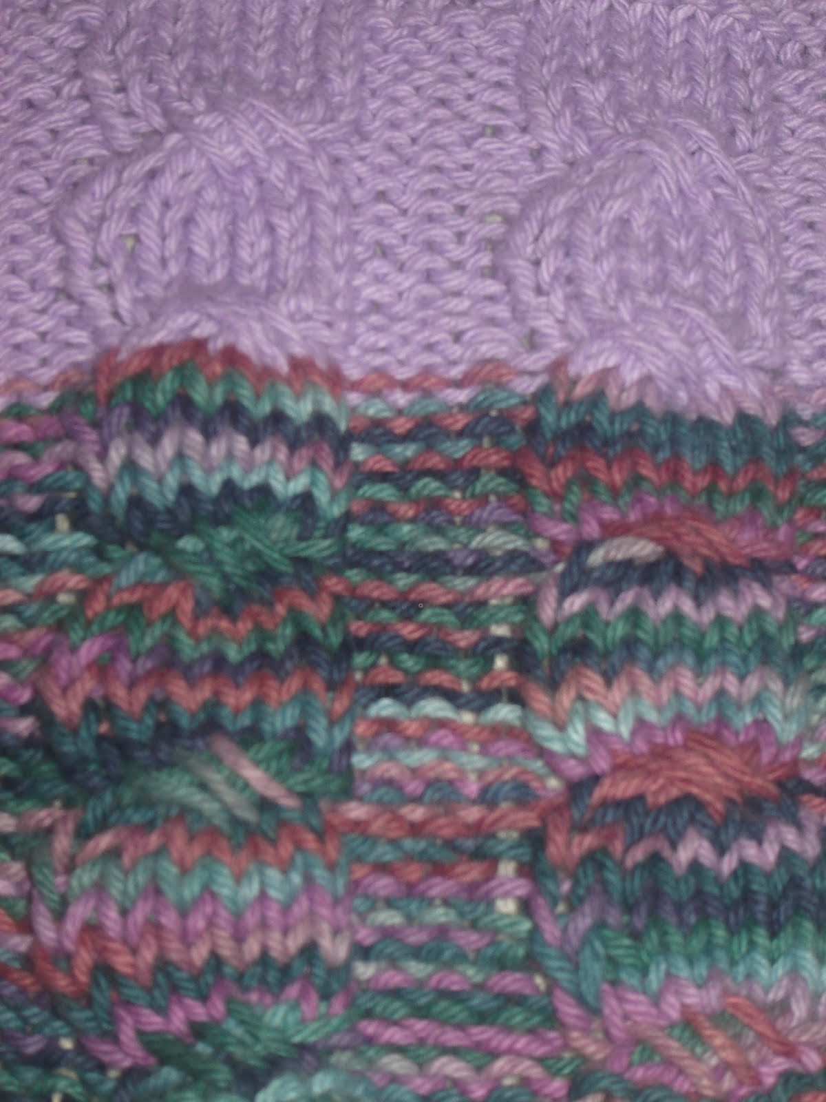 Crazy Knitting Fool\'s Finished Objects