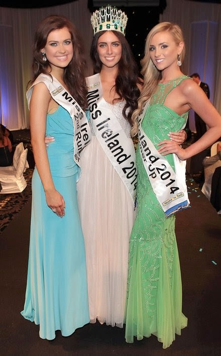 Miss Ireland World 2014 winner Jessica Hayes