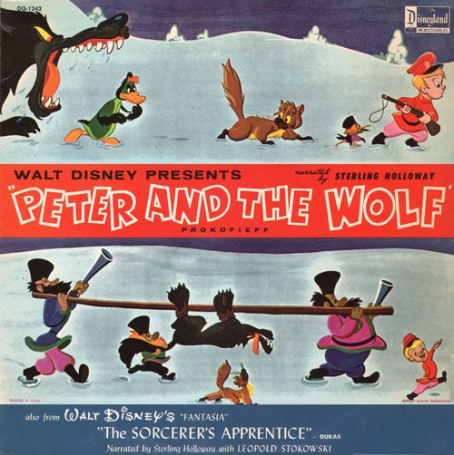 Peter And The Wolf Sterling Holloway Disney
