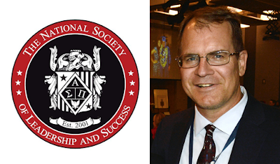 image of NSLS logo and photo of John Bastian