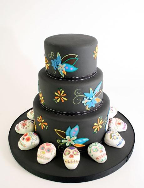 Amazing Dia de Los Muertos Cakes! - The Crafty Chica