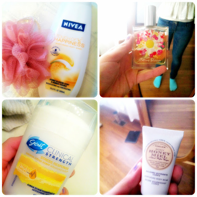 what to use to smell like oranges