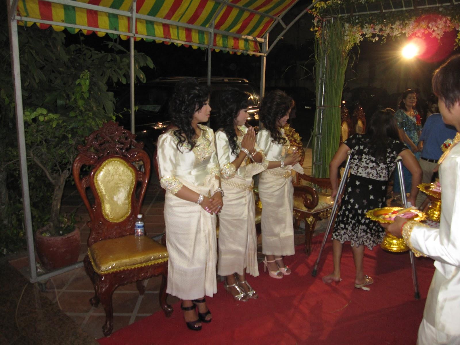 Cambodian Wedding Reception