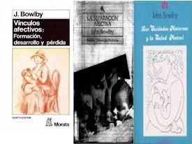 Paquete de 3 libros de Bowlby