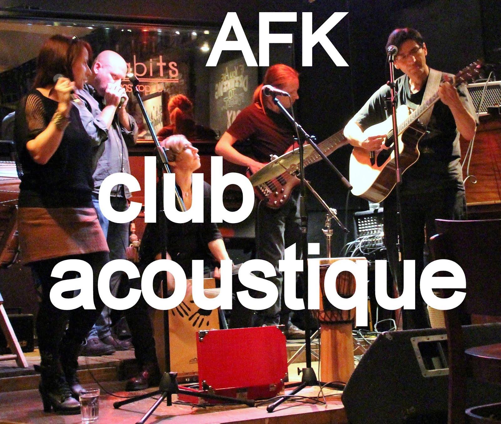 Club Acoustique - Nouveauté!