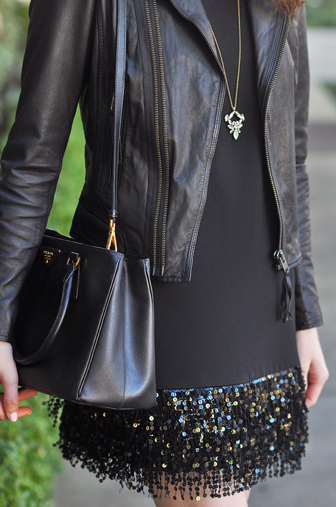 Kate Spade sequin fringe minidress