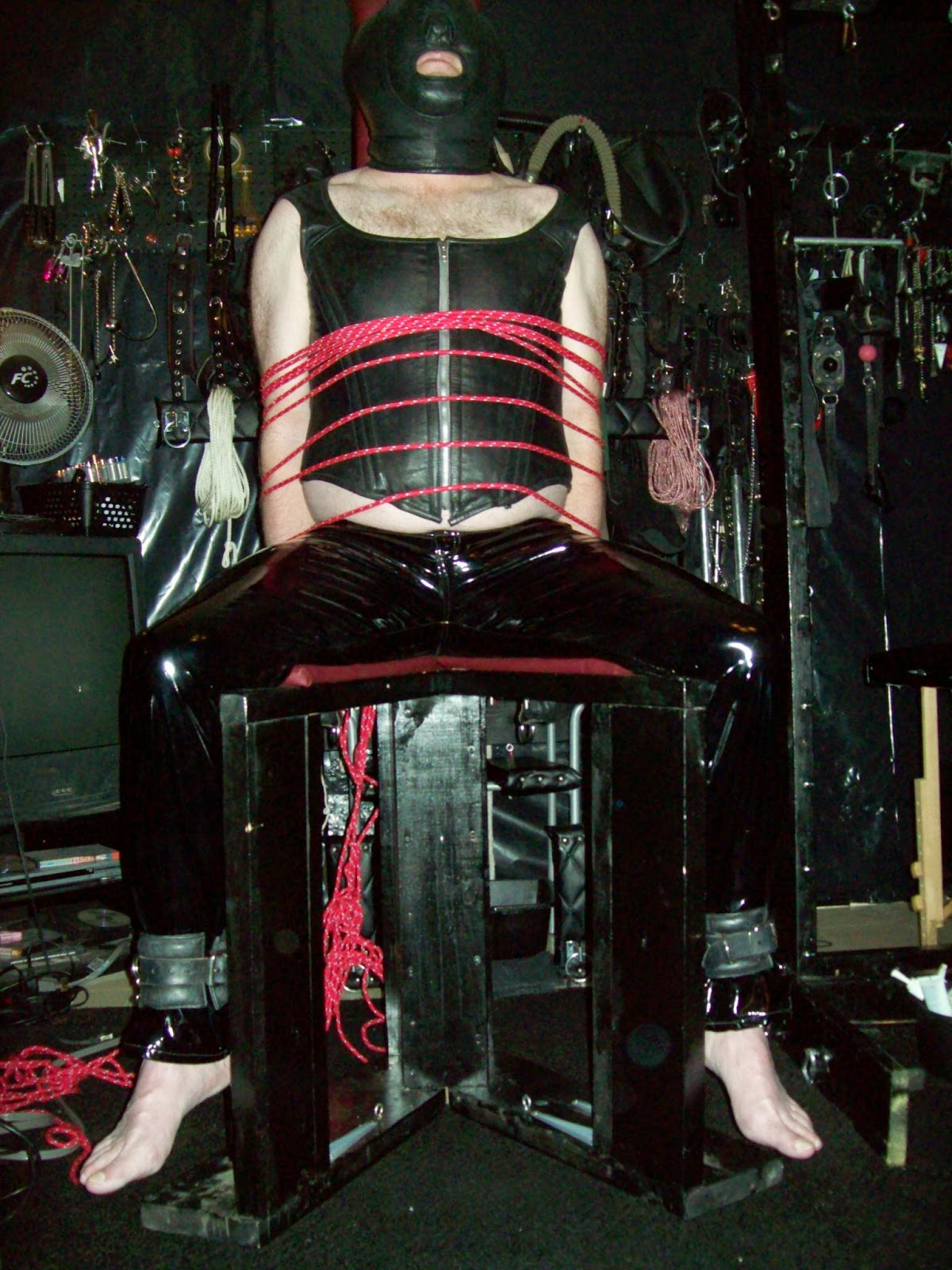 Edmonton Dominatrix Bondage Chair