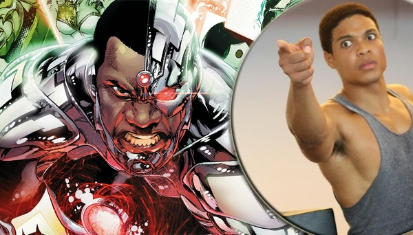 Ray Fisher como Cyborg