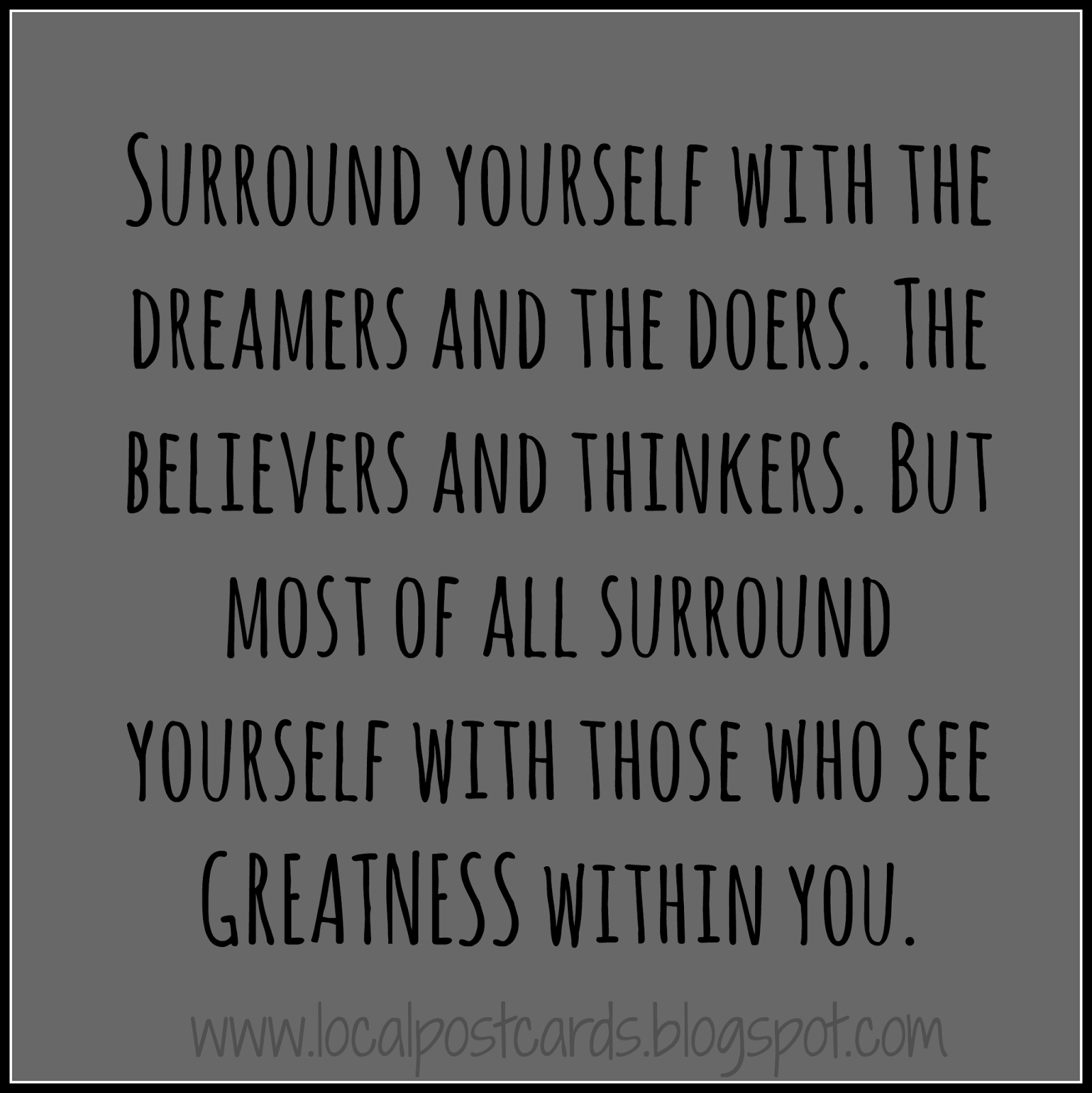 The Dreamers and Doers