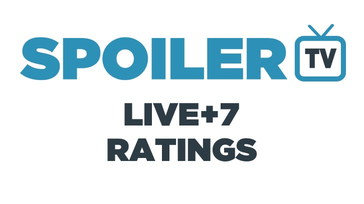 Live+7 DVR Ratings - Week 30 (13th April - 19th April 2015)