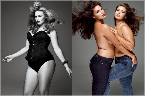Modelos Plus Size e a moda para gordinhas