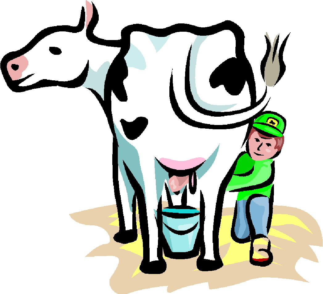 free clip art dairy cow - photo #6