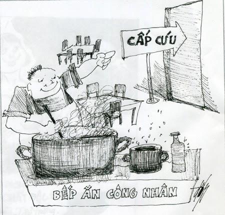 Tranh biếm họa về thực phẩm giả, kém chất lượng, mất vệ sinh - hình 1